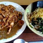 江戸家 - 料理写真:セットのミニ蕎麦は冷で。