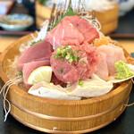 ととすけ - ・まぐろトロ三昧定食 1,700円/税抜 ※ご飯は酢飯をチョイス