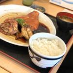 ととすけ - ・金目鯛の煮付け定食