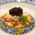 神楽坂 鉄板焼 中むら - 料理写真:北海道産毛ガニ 蟹味噌和え 黄味酢和え オシャトラキャビア 菊花