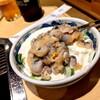 松浪 - 料理写真:松浪焼き(手剥き鯏、葱) 1,050円