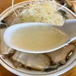 158398553 - 塩ネギチャーシューメンスープ