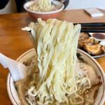 158398554 - 塩ネギチャーシューメンの麺