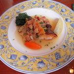 ラ・マンチャ - 鮮魚のソテー、オレンジソース