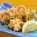 15840337 - 鶏の唐揚げ7種・・・スタンダード(塩味)、ジンジャー、ガーリック、スパイシー、カレー、オロシポン酢、ユーリンチ
