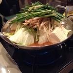 味のれん - キムチ味噌もつ鍋