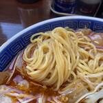 江ざわ - 細麺です。
