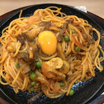 味のガンジス - 料理写真:イタリアンスパゲッティ税込670円(^-^)