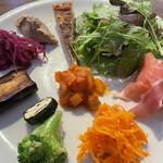 オステリア バルキーニョ - 料理写真:前菜