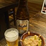 平和軒 - 中瓶ビール 600円