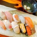 すし処 みどりや - 料理写真:握り寿司特上