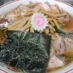 青島食堂 - 青島チャーシュー メンマ50円増@¥850+¥50