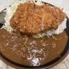 お食事 まるやま - 料理写真:とんかつカレー