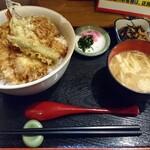 天ぷら処 こさか - 天丼(大盛)