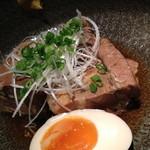 15844097 - 角煮と味付け煮玉子