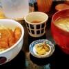 若狭 醤油かつ丼と豚汁 厳選味覚 うまもんや - 料理写真:醤油かつ丼、豚汁は大に変更で1300円(ランチは税込価格)