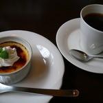 15845114 - 2012.11訪問時 冷製ブリュレと珈琲のセット