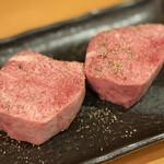 158450157 - ・厚切り牛タン                       1枚 2,200円