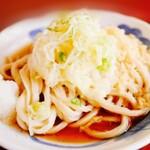 美也川 - 料理写真:冷やしたぬきうどん
