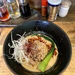 麺や 幸村 - 料理写真:器も含めてすべてキンキンのキンに冷やされた「冷やし坦々麺」ほんわか香るナッツとニンニクチップが素晴らしい!
