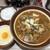 麺屋 天神 - 料理写真:辛味噌ラーメン(中盛)(900円)+生タマゴ(100円)+無料半ライス