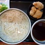 瀬戸内製麺710 - 冷やしうどん(とり天トッピング)