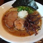 豚ソバ Fuji屋 - 豚ソバ 醤油 700円