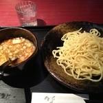 15846508 - 醤油つけ麺   700円
