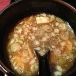 15846520 - 醤油つけ麺スープ