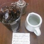 バッケンモーツアルト - アイスコーヒー