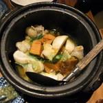 15846679 - ホソと季節野菜のガーリックバター蒸し