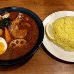 札幌スープカレーJACK - やわらかチキンカレー