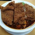 甲子園一貫樓 - 料理写真:チキンカツ麻婆麺辛さ普通