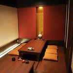 与六ぢゃ - 内観写真:個室掘りごたつスペースYURURI(ゆるり) 54席