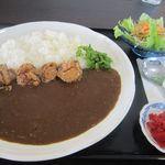 モンダ亭 - 料理写真:カレーセット(唐揚げ)