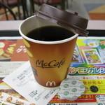 マクドナルド - ドリンク写真:プレミアム珈琲(S) 100円