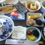 芥屋ゴルフ倶楽部 レストラン - 朝定食