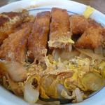 山田うどん - 料理写真:煮込みソースカツ丼