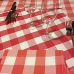ブラッスリー・グー - テーブルセッティング
