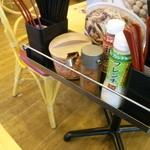 すき家 - テーブルセット
