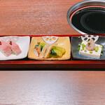 158504898 - ランチ御膳の前菜