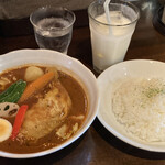 西屯田通りスープカレー本舗 - 料理写真: