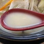 麺や ZEっ豚 - スープ