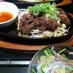15853265 - 牛ハラミステーキ定食