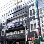 南木商店 - 「立川アーバンホテル」が目印、っていうか、その1階が「らーめん たま館」です。