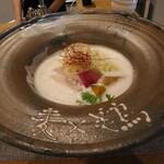 麦×鶏 - 麦×鶏(900円、斜め上から)