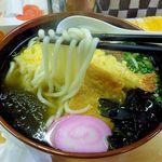 うどん処幸 - 麺は細丸めん