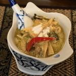 ライカノ - 2012.11 鳥肉のグリーンカレー(840円)