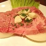 15854183 - 特選リブロース  口の中で肉が溶ける美味しさ(^ ^)