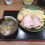 158545814 - 味玉濃厚魚介つけ麺 ¥1,060円